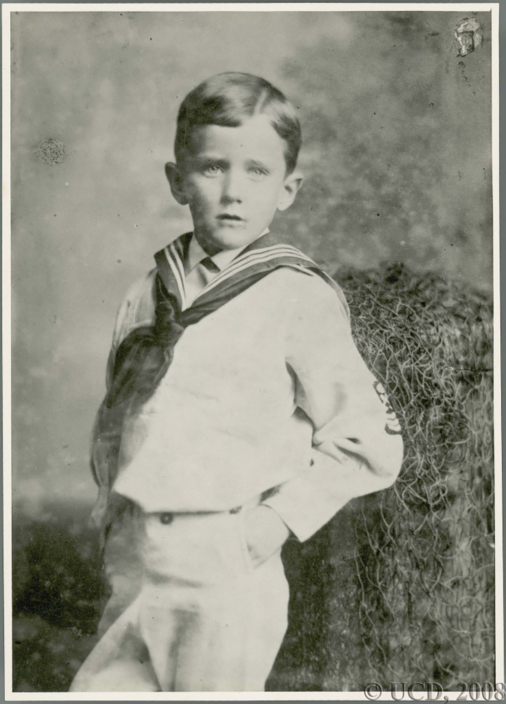 Photograph of James Joyce as a boy