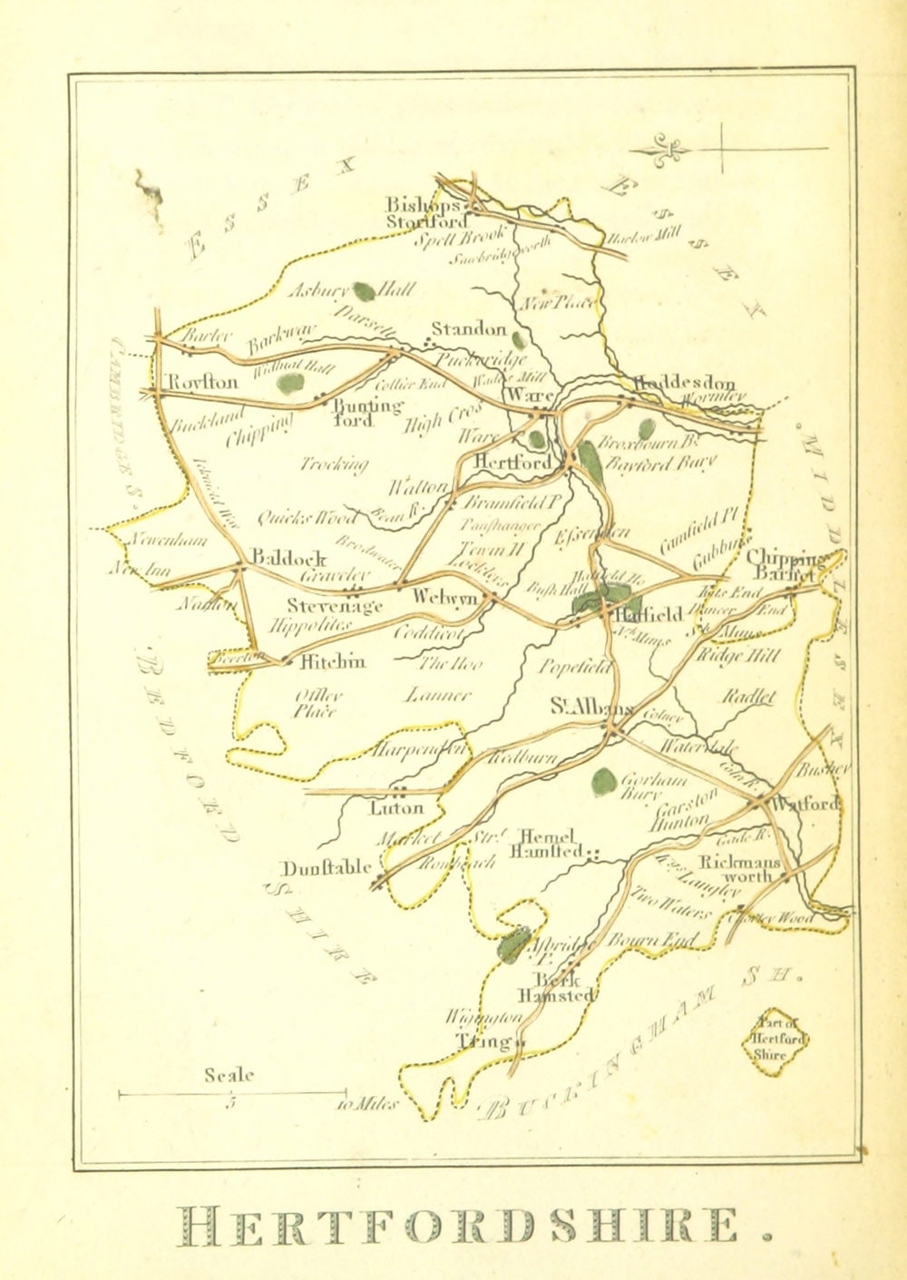 Hertfordshire in 1804