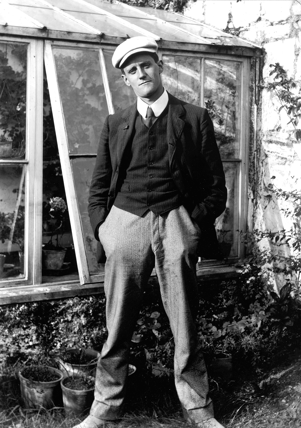James Joyce, pictured in 1904