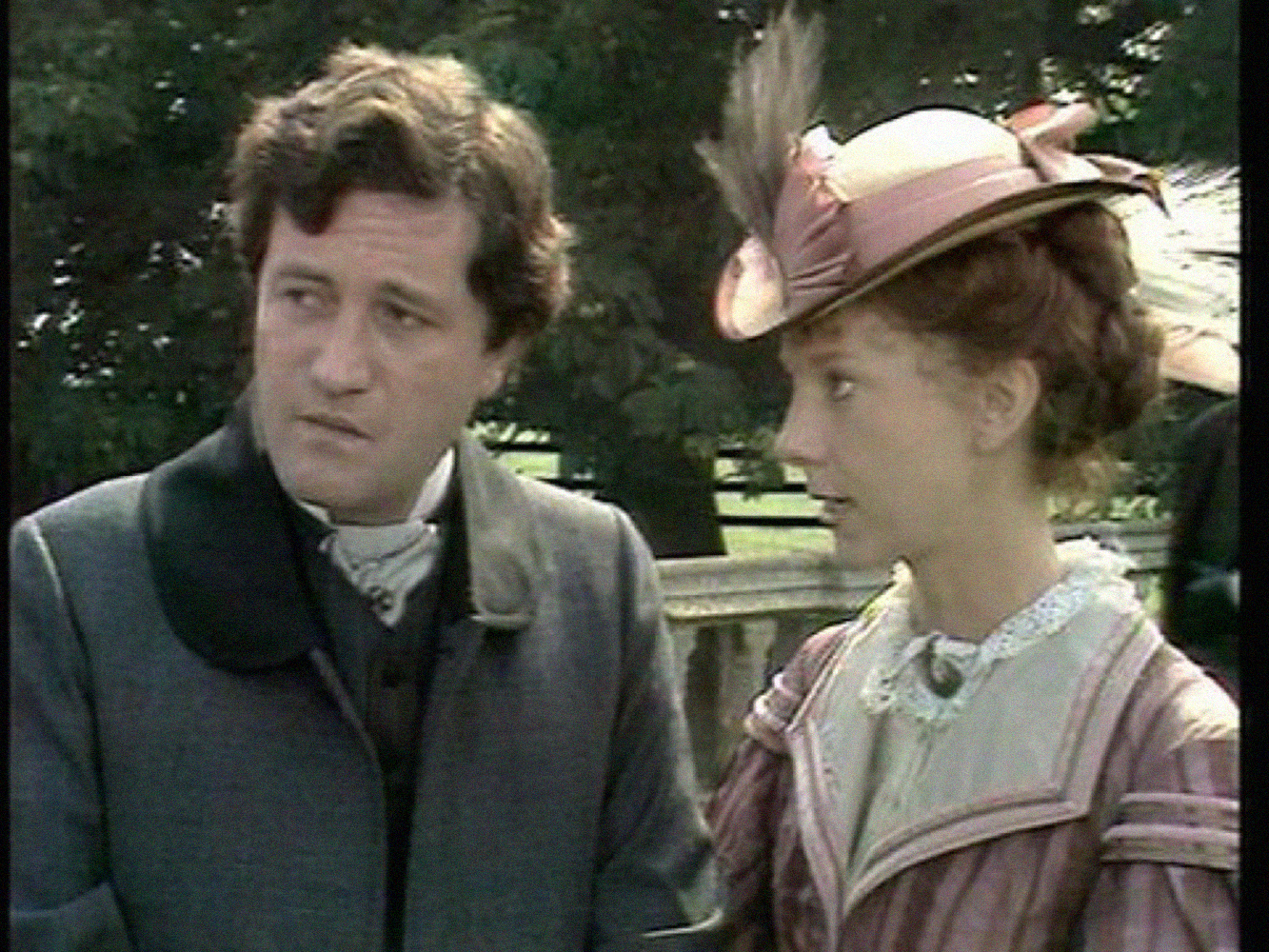 Donal McCann and Anna Massey as Phineas and Lady Laura in the 1974 BBC adaptation of Trollope's Palliser novels